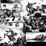 Le Colosse NOIR (Conan-Glénat 2018) : planche p52-53